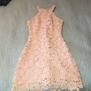 Blush Pink Lulu's Love Poem Dress